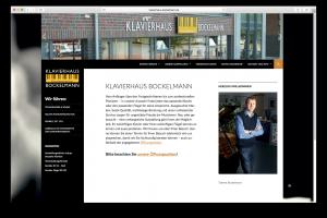 Screenshot Webdesign www.klavierhaus-bockelmann.de